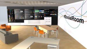 Pré-rendu 3D SocialRoom Orange Village